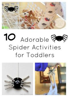 10 Spider Activities for Toddlers