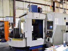 SAEILO CNC HORIZONTAL MACHINING CENTER - 102 Tool Holders, 48 Offsets, Conveyor