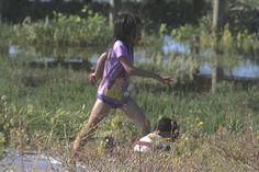Niños en el Humedal