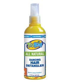 Dancing Hair Detangler - Set of Two..ALL NATURAL, MADE IN USA