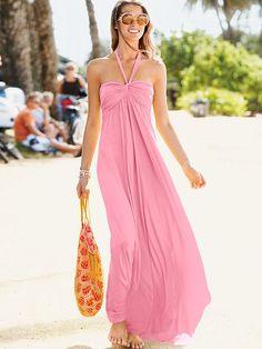 Love this maxi bra top dress