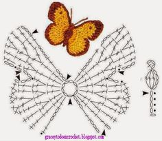 Butterflies to decorate your Christmas...Mariposas para adornar sus navidades!