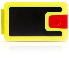 Warning! This RHYTHM and Blues LB0070 is extremelly energetic! - The black, yellow and red Lockbox silicone wallet - $39.90 - We are shipping worldwide!