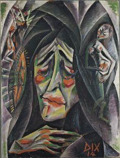 Otto Dix >> La monja