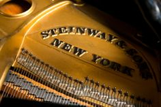 """1stdibs   Steinway Piano   Circa 1931 Steinway M with matching bench, completely rebuilt and in beautiful condition. Excellent sound   5'6""""d x 4'8""""w x 40""""h"""