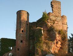 Wasgau News - Aktuelle News aus der Region: Burg Neudahn bei Dahn
