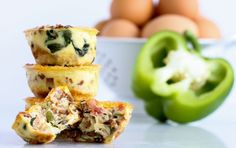 Easy Cheesy Crustless Quiche | Recipe