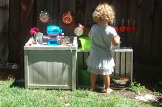 mud pie kitchen if i ever have a kid.  Totally doing this