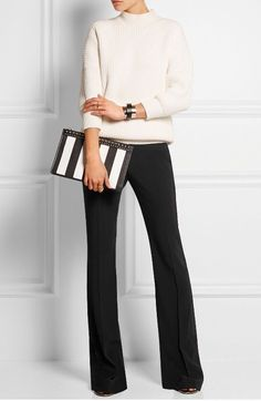 How To Look Like A Millionaire At Work - Fashion Trends Formal Business Attire, Business Casual Outfits, Business Formal Women, Fashion Mode, Work Fashion, Office Fashion Women, Fashion Hacks, Petite Fashion, Ladies Fashion