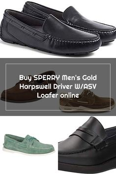 New SPERRY Men's Gold Harpswell Driver W/ASV Loafer. New Fashion Clothing [$115.47] from top store newtopgoods New Fashion, Fashion Outfits, Sperrys Men, Loafers Online, Loafers Men, Boat Shoes, Oxford Shoes, Dress Shoes, Store