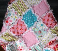 Baby Doll's quilt, just ordered from etsy.  Now to decorate the rest of the room!