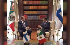 México y Finlandia comprometidos con fortalecer relaciones bilaterales - El Sol de México