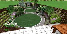 Jonathan Mark Garden Design. Award-winning landscape garden designer & architect based in London. Circular Garden Design, Circular Lawn, Back Garden Design, Garden Design Plans, Modern Garden Design, Backyard Garden Design, Backyard Landscaping, Landscaping Design, Backyard Patio