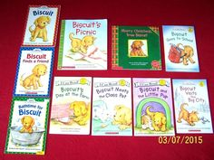 10 Biscuit Children's Books~Early~Beginning Readers~Puppy~Dog~I Can Read~Age 5-8