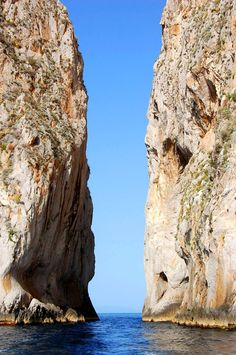 Faraglioni Rocks - Capri, Naples, Campania region