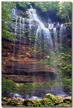 Gap Creek Falls, Wattagans National Park