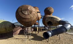 National Arboretum Canberra's playground sets benchmark for themed play spaces | Architecture And Design