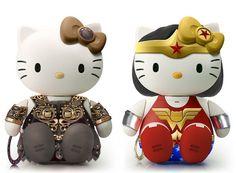 Hello Xena and Hello Wonder Kitty