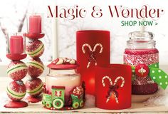 The best candles and home fragrance in the world!!