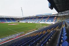 DKB-Arena, Rostock, Alemania. Capacidad 29,000 (sentados y parados) 20,000 (sólo sentados) espectadores, Equipo local FC Hansa Rostock.