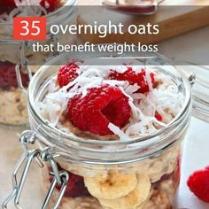 Looking for a quick and healthy breakfast idea? Try overnight oats! They're easy to make and portable. See 35 overnight oats recipes that benefit weight loss!