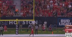 Houston's Brandon Wilson Returns Missed Field Goal 109 Yards For A Touchdown Against Oklahoma - http://viralfeels.com/houstons-brandon-wilson-returns-missed-field-goal-109-yards-for-a-touchdown-against-oklahoma/
