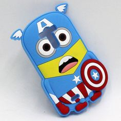 Super cute minion hero case