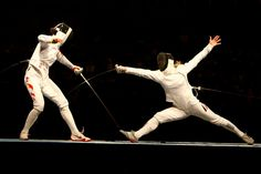 Fencing is one of five sports which have been featured at every one of the modern Olympic Games, the other four being Athletics, Cycling, Swimming, and Gymnastics.