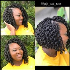 40 Short Crochet Hairstyles Crochet styles are cute, versatile, and a great alternative to other protective styles like braids, twists, and weaves. Here are 40 great short crochet styles. Box Braids Hairstyles, Girl Hairstyles, Short Crochet Braids Hairstyles, Crochet Bob Braids, Hairstyles 2016, Short Bob Braids, Braided Mohawk Hairstyles, Evening Hairstyles, Teenage Hairstyles