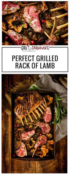 Perfectly Grilled Rack of Lamb - Works every time! and a little history on lamb in America