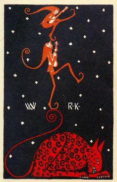Wiener Werkstätte postcard