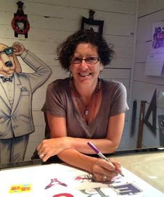 Nina Laden is a truly inspirational children's author and illustrator. Her creativity knows no bounds.