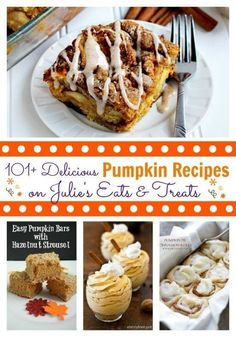 101+ Delicious Pumpkin Recipes @FoodBlogs