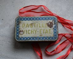 Your place to buy and sell all things handmade Chocolates, Pill Boxes, Candy Boxes, Vintage Tins, Storage Boxes, Lunch Box, Tin Cans, French, Unique Jewelry