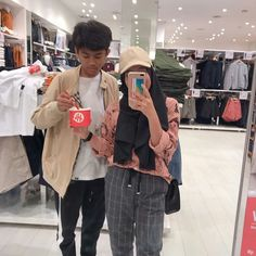 Nayput *TAMAT* - 08 friend love Friend zone gitu Baca ae dah<br> Read 08 from the story friend (Muser) . Nayput *TAMAT* by SalzaAgustina with reads. Casual Hijab Outfit, Ootd Hijab, Hijab Chic, Cute Girl Photo, Girl Photo Poses, Girl Photos, Ulzzang Couple, Ulzzang Girl, Boy And Girl Friendship