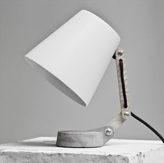 Too cute! Like a mini sad lamp. Potential Energy by whatswhat-collective