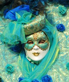 Turquoise | Teal | masquerade | myvenetianmask