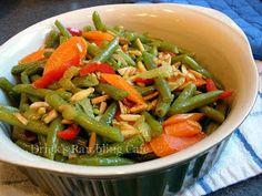 Drick's Rambling Cafe: Healthy Carrot n Green Bean Recipe