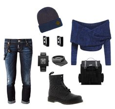 Contest: Blue-Boat-Neck-Cross-Front-Crop-Sweater by missactive-xtraordinary on Polyvore featuring polyvore, moda, style, Dsquared2, Dr. Martens, Nanoblock, Oasis and Brixton