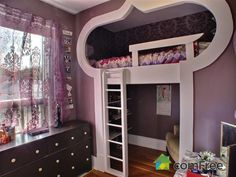Coolest kids' room ever!! #ComFree #HomeForSale #ScotiaHeights