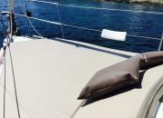 """Solarium en la proa del velero """"De Lucía"""", chárter náutico todo incluido Ibiza-Formentera en www.entreibizayformentera.es  #ibiza #formentera #navegar #charternautico #alquilerbarcos #barcos #veleros"""