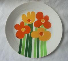 Vintage-Figgjo-Flint-Norway-ANNEMARIE-Large-Dinner-Plate