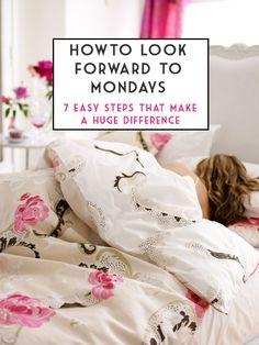A Case of the Mondays: 7 simple tips that make for better Mondays - The Golden Girl Good Monday, Hello Monday, Beauty Advice, Beauty Stuff, Monday Blues, Sunday Night, Monday Motivation, Morning Motivation, Better Life