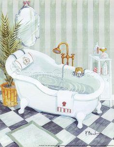 Claw Tub - mini