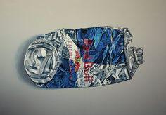 Redbull Painting (31x23, Acrylic, 2016)