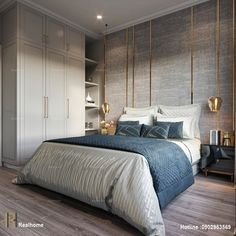 Pin By Isabelticket On Luxury Bedroom Interior Design In on Best Room Ideas 2752 Contemporary Bedroom Furniture, Modern Bedroom Design, Luxury Interior, Home Interior, Interior Design, Home Bedroom, Bedroom Decor, Neoclassical Interior, Bedroom Layouts