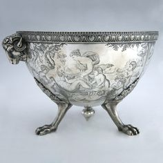 TIFFANY & Co. 1850's Neoclassical Silver Centerpiece New York City, United States Circa 1850s