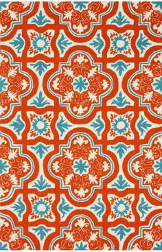 Area Rugs in many styles including Contemporary, Braided, Outdoor and Flokati Shag rugs.Buy Rugs At America's Home Decorating SuperstoreArea Rugs Rugs USA Hacienda Atalla Outdoor Light Blue Rug Pretty Patterns, Beautiful Patterns, Color Patterns, Design Patterns, Design Design, Print Design, Design Ideas, Motifs Textiles, Textile Patterns
