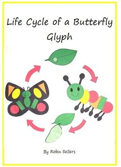 Life Cycle of  a Butterfly Glyph. This glyph also includes shape and color recognition.