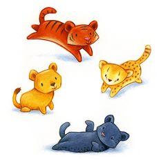Little Big Cats by Aaron Zenz